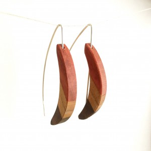 Crescent – Pink Ivory/Maple/Walnut